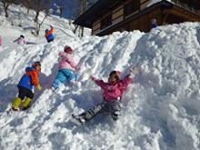 1月 雪遊び合宿