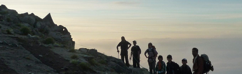西コマ登山